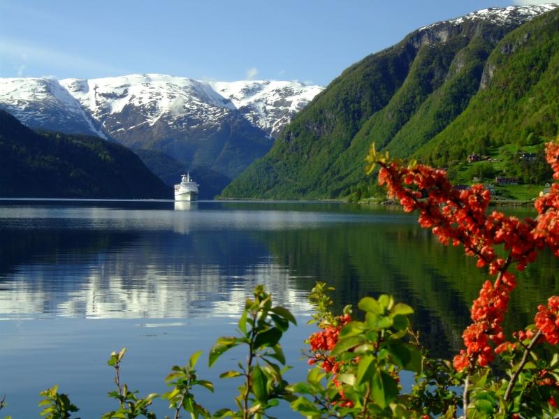 schöne fjorde norwegen